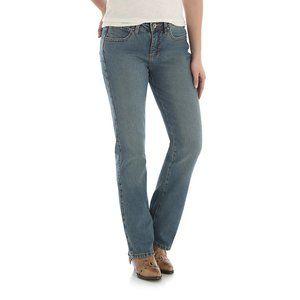 🔥Wrangler Aura Boot Cut Jeans High Rise Sz 8S